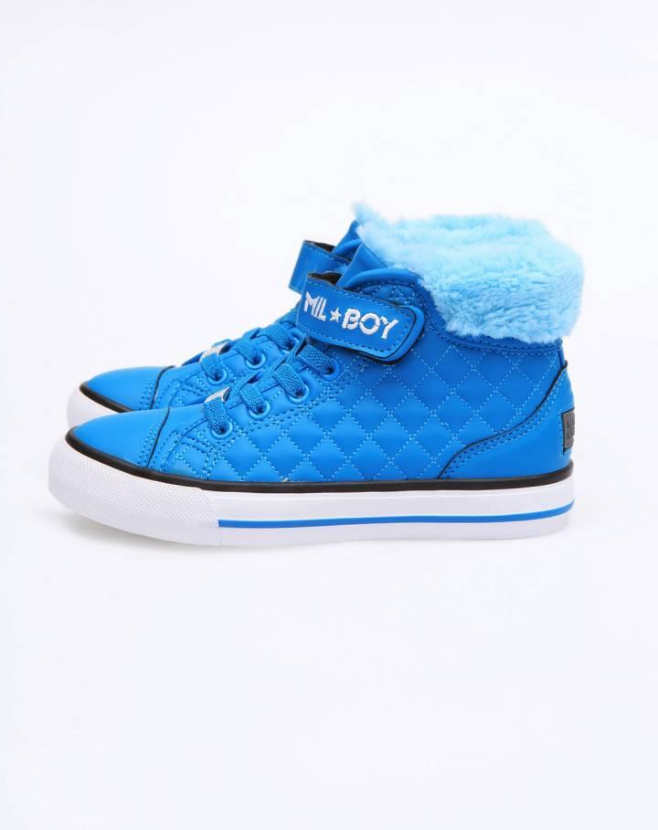 男童蓝色运动鞋-唯品会手机版